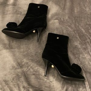 Authentic chanel booties